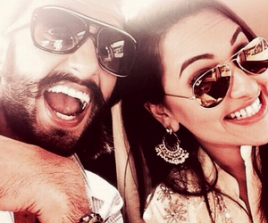 bollywood, couple, and sonakshi sinha image