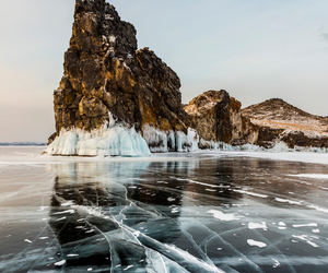 ice, nature, and winter image