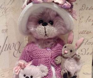 lapin, nounours, and ours image