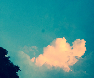 cloud, happy, and peace image