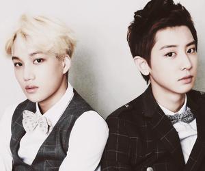 exo, kai, and chanyeol image