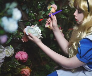 alice, alice in wonderland, and cosplay image