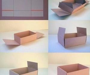box, diy, and cute image