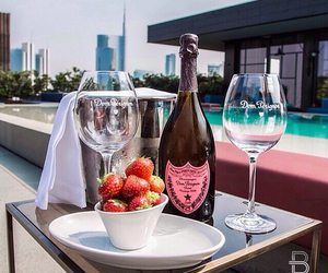 luxury, Cocktails, and strawberry image