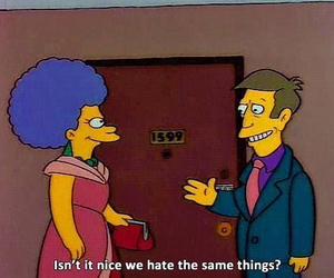 hate, simpsons, and the simpsons image