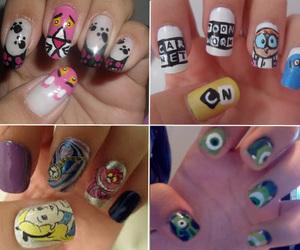 loved, nails, and unha image