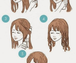 diy, girl, and hair image