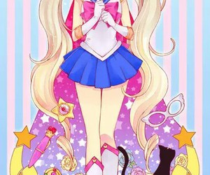 sailor moon, anime, and kawaii image