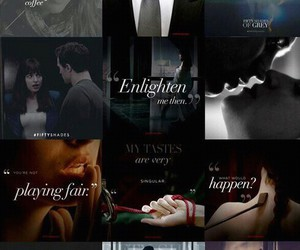 fifty, christiangrey, and fiftyshades image