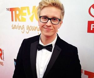tyler oakley, funny, and suit image