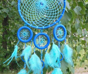 dreamcatcher, etsy, and feathers image