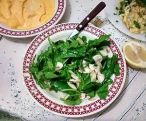food, green, and salad image