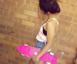 board, penny board, and penny image