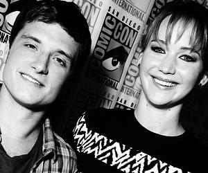josh hutcherson and Jennifer Lawrence image