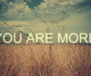 you are more image