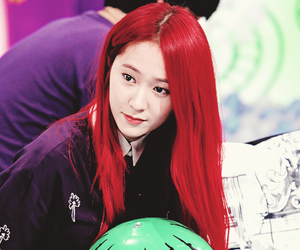 fx, red hair, and f(x) image