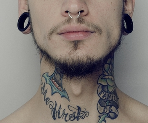 tattoo, piercing, and boy image
