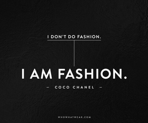 fashion, quote, and chanel image