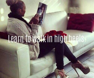 high heels, shoes, and bucket list image