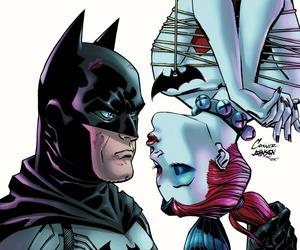 batman, harley quinn, and dc comics image