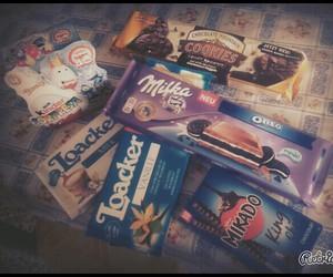 chocolate, Cookies, and kinder image