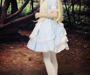 cosplay, alice, and alice in wonderland image