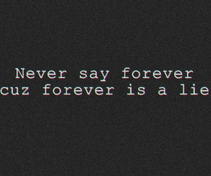 forever and lie image