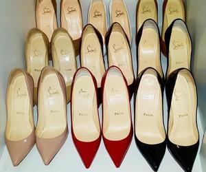 shoes, luxury, and louboutin image