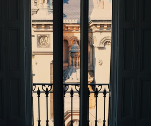 architecture, window, and view image