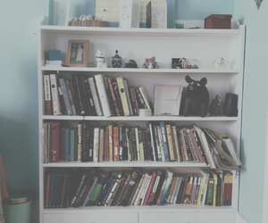 books, grunge, and cute image