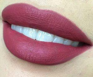 lips, beautiful, and makeup image