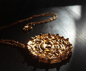 aztec, coin, and gold image