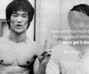 bruce lee, inspiration, and law of attraction image
