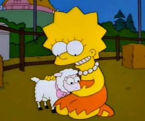 lisa simpson, simpson, and vegetarian image