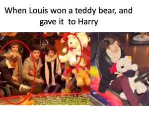 fetus, louis tomlinson, and larry stylinson image