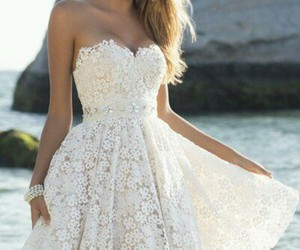 beautiful, white, and flowers image