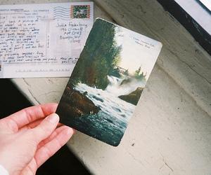 vintage, postcard, and photography image