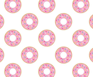 delicious, donuts, and iphone image
