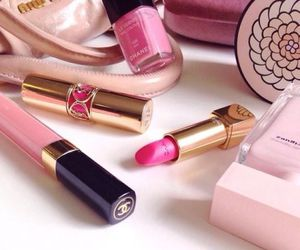beauty, lipstick, and chanel image
