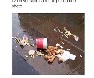 food, funny, and pain image