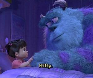 boo, kitty, and disney image