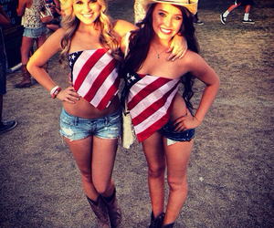 american, country, and fourth of july image