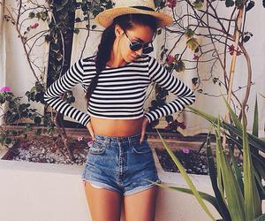 fashion, girl, and summer image