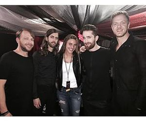 happy, smiles, and imagine dragons image