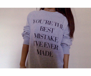 ariana grande and best mistake image