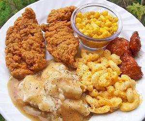 food, Chicken, and yummy image
