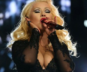 celebrity, christina aguilera, and famous image