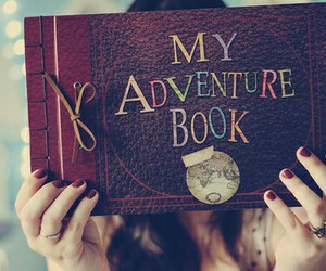 adventure, book, and diy image