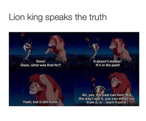 animals, deep, and lion king image