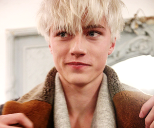 blonde, model, and fashion image